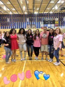 Pink Out Peprally!